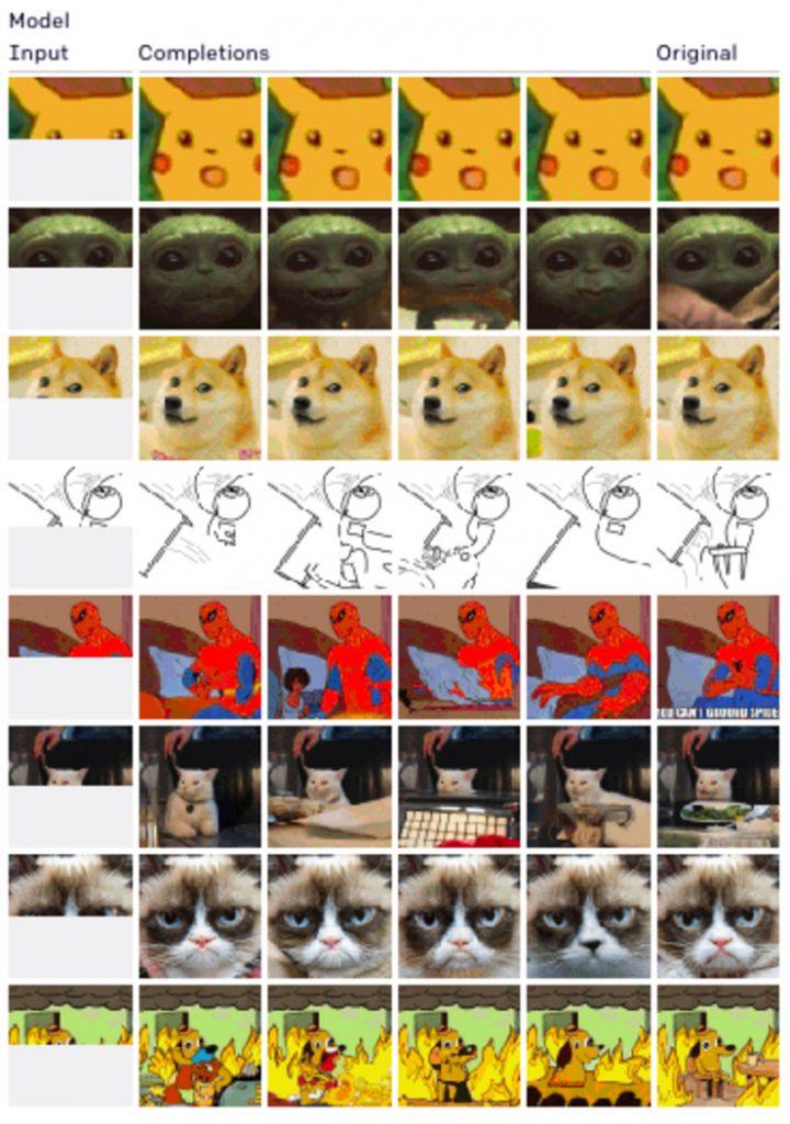 半分だけの画像でも全体像を自動生成するAIをOpenAIが発表