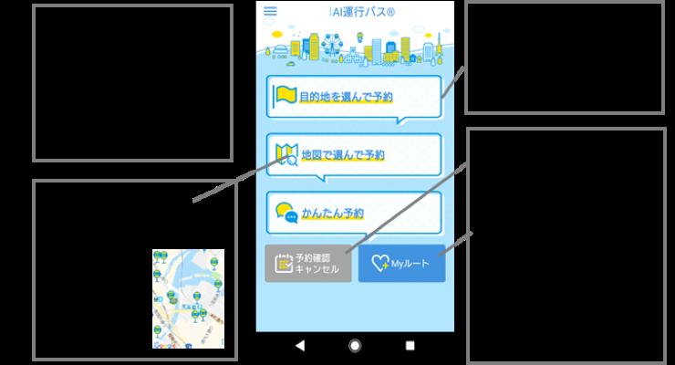 ドコモ、AI乗合タクシーを茨城県に導入 夜間の飲食店利用時の送迎にも対応